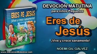 Jueves 12 de noviembre 2015 | Devoción Matutina para niños Pequeños 2015 | Jesús agradeció a su Padre