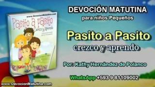 Jueves 18 de febrero 2016 | Devoción Matutina para niños Pequeños 2016 | Limpios para Jesús