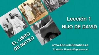 Lección 1 | Martes 29 de marzo 2016 | El árbol genealógico temprano de Jesús | Escuela Sabática