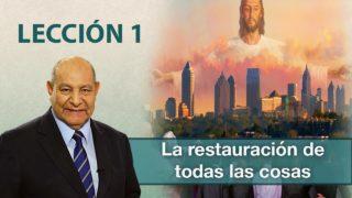 Comentario | Lección 1 | La restauración de todas las cosas | Pr. Alejandro Bullón | Escuela Sabática