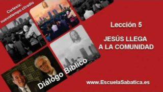 Resumen | Diálogo Bíblico | Lección 5 | Jesús llega a la comunidad | Escuela Sabática