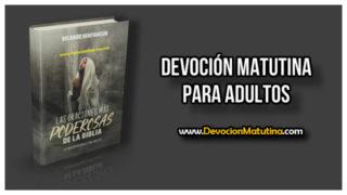 Viernes 27 de abril 2018 | Devoción Matutina Adultos | Oración al revés