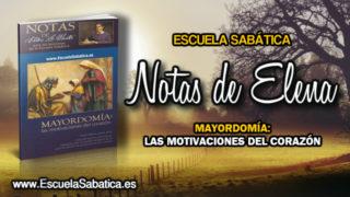 Notas de Elena | Martes 16 de enero 2018 | Cristo, el Redentor | Escuela Sabática