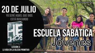 Escuela Sabática Jóvenes | Viernes 20 de julio del 2018 | Yo seré aquel que Dios está buscando