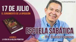 Escuela Sabática | Martes 17 de julio del 2018 | El surgimiento de la oposición | Pastor Daniel Herrera