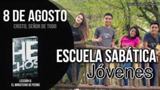 Escuela Sabática Jóvenes   Miércoles 8 de agosto del 2018   Cristo, Señor de todo