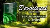 6 de octubre | Devocional: Ser Semejante a Jesús  | Un poder superior debe controlar la naturaleza física