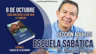 Escuela Sabática | 8 de octubre 2018 | Cada uno hacía lo que bien le parecía | Pr. Daniel Herrera
