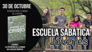 Escuela Sabática Joven   Martes 30 de octubre 2018   Recursos para la unidad de la iglesia
