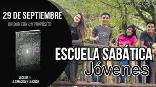 Escuela Sabática Jóvenes   Sábado 29 de septiembre 2018   Unidad con un propósito