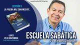 Escuela Sabática | 26 de noviembre 2018 | El ministerio de la reconciliación | Pr. Daniel Herrera