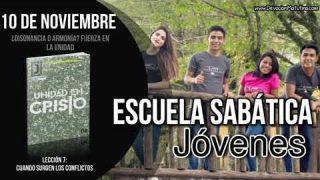 Escuela Sabática Joven   Sábado 10 de noviembre 2018   ¿Disonancia o armonía? fuerza en la unidad