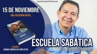 Escuela Sabática | Jueves 15 de noviembre 2018 | Una solución difícil | Pr. Daniel Herrera