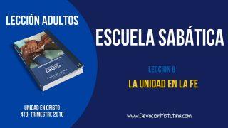 Escuela Sabática | Miércoles 21 de noviembre 2018 | El Sábado | Lección Adultos