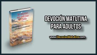 Martes 1 de enero 2019 | Devoción Matutina Adultos | Oración primera