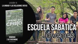 Lección 10 | Domingo 2 de diciembre 2018 | Siervos mutuos | Escuela Sabática Joven