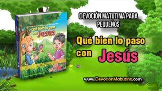 Sábado 8 de diciembre 2018 | Devoción Matutina para Niños Pequeños | Jesús y yo
