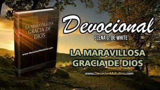 11 de enero | Devocional: La maravillosa gracia de Dios | Establecido mediante la muerte de Cristo