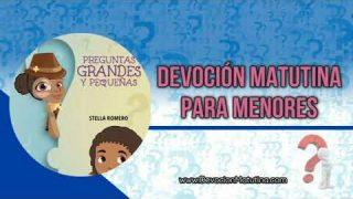 5 de enero 2019 | Devoción Matutina para Menores | ¿Por qué me cuesta tanto memorizar los textos de la Biblia?