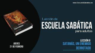 Lección 8 | Jueves 21 de febrero 2019 | La estrategia de Satanás | Escuela Sabática Adultos