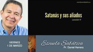 1 de marzo 2019 | Satanás y sus aliados | Escuela Sabática Pr. Daniel Herrera