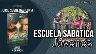 Lección 12 | Sábado 16 de marzo 2019 | El proceso del juicio | Escuela Sabática Joven