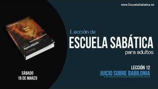 Lección 12 | Sábado 16 de marzo 2019 | Para memorizar | Escuela Sabática