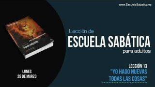 Lección 13 | Lunes 25 de marzo 2019 | Termina el Armagedón | Escuela Sabática