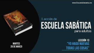 Lección 13 | Martes 26 de marzo 2019 | El milenio | Escuela Sabática