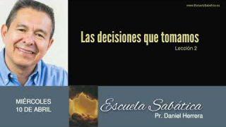 10 de abril 2019 | La elección del compañero de la vida | Escuela Sabática Pr. Daniel Herrera