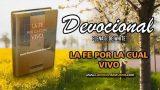 25 de abril | Devocional: La fe por la cual vivo | Gozo y paz por el Espíritu Santo