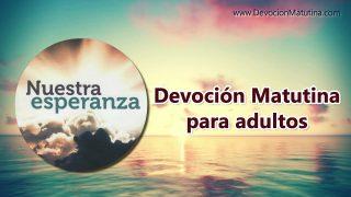 8 de mayo 2019 | Devoción Matutina para Adultos | La mayor oportunidad de la vida