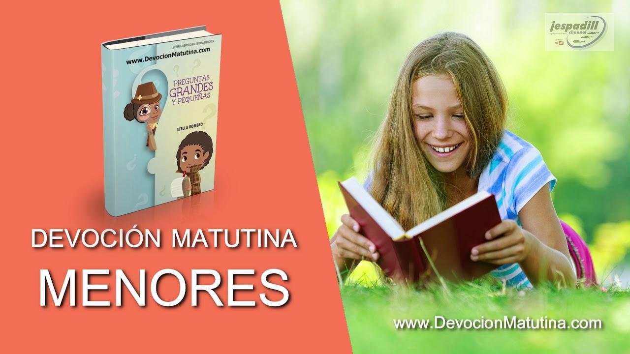 9 de mayo 2019 | Devoción Matutina para Menores | ¿Qué diferencia hay entre bípedos y cuadrúpedos?