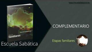 Complementario | Lección 6 | Tiempo de matrimonio | Escuela Sabática Semanal