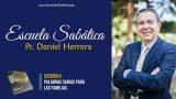 Lección 5 | Palabras sabias para las familias | Escuela Sabática Pr. Daniel Herrera
