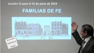 Lección 11 | Familias de fe | Escuela Sabática 2000