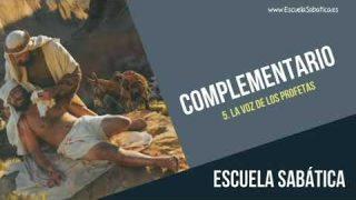 Complementario | Lección 5 | La voz de los profetas | Escuela Sabática Semanal