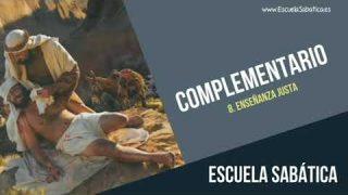 Complementario | Lección 8 | Enseñanza justa | Escuela Sabática Semanal