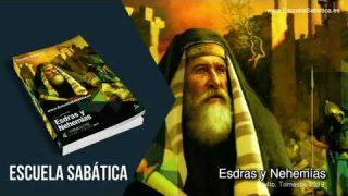 Lección 2 | Jueves 10 de octubre del 2019 | Nehemías se prepara para su tarea | Escuela Sabática Adultos