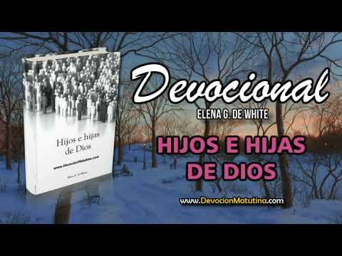 12 de noviembre | Devocional: Hijos e Hijas de Dios | Sed de Dios
