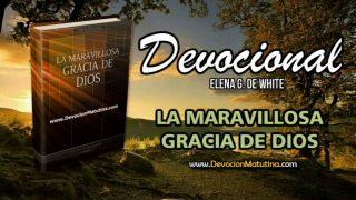 3 de noviembre | Devocional: La maravillosa gracia de Dios | Mirad y vivid