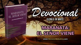 4 de noviembre   Devocional: Maranata: El Señor viene   Gozo inefable