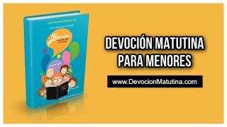 Domingo 2 de agosto 2020 | Devoción Matutina para Menores 2020 | El libro de Abdías