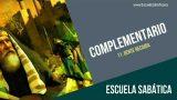 Complementario | Lección 11 | Gente recaída | Escuela Sabática Semanal