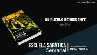 Lección 11 | Un pueblo reincidente | Escuela Sabática Semanal