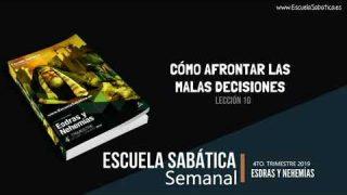 Lección 12 | Cómo afrontar las malas decisiones | Escuela Sabática Semanal