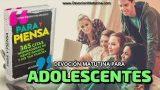12 de enero 2020 | Devoción Matutina para Adolescentes | Thomas Goodwin