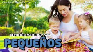 15 de marzo 2020   Devoción Matutina para Niños Pequeños   Debajo del aspersor