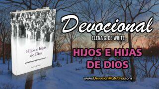 14 de diciembre | Devocional: Hijos e Hijas de Dios | Se cierra la gracia