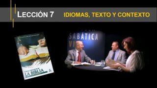 Lección 7 | Idiomas, texto y contexto | Escuela Sabática Viva